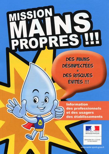 Journ e nationale de l 39 hygi ne des mains - Protocole de lavage des mains en cuisine ...